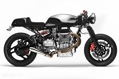 This classic-looking Guzzi cafe racer, however, is based on a 1996 V1100 Daytona—an altogether more powerful bike, with 102 bhp from its 1064cc motor. It's the latest build from Alain Bernard of Santiago Chopper, and Bernard has nicknamed the machine 'Weight Watcher' because he's stripped all the fat from the stock bike—both visually and literally.