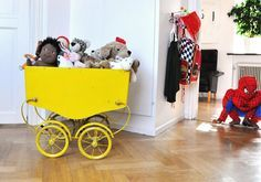 Curious? Access www.circu.net to find the best selection of yellow interior design inspirarions for you and your baby's first project!