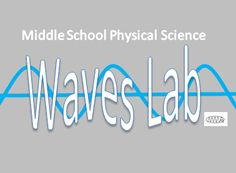 Middle School Physical Science Waves Lab- FREE!