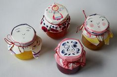Thinking this would be a great packaging idea for homemade food gifts from kids. Honey Packaging, Pretty Packaging, Brand Packaging, Japanese Packaging, Japanese Design, Packaging Design Inspiration, Food Design, Paper Goods, Branding Design
