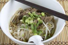 Simple Thai Beef Noodle Soup (Nua Toon)