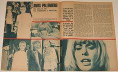 Anita Pallenberg - Fotogramas (Spain) #974; 1967 (3)