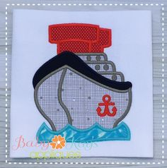 Take a cruise and take this design with you!