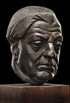 1943.07.45 Renato Marino Mazzacurati Ritratto di Giorgio Pasquali