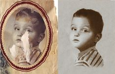 How to restore and repair an old, damaged photograph