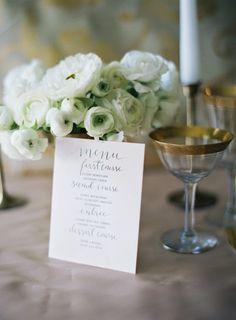 Wedding decor perfection: http://www.stylemepretty.com/destination-weddings/2014/11/27/romantic-wedding-inspiration-shoot-in-paris/   Photography: Loren Routheir - http://lorenrouthierphotography.com/