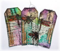 Mixed Media Tags with Art Anthology