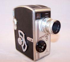 Vintage Movie Camera Pentaka 8 Germany the 1960s ♥♥♥