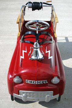 Classic Fire Pedal Car