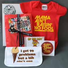Lil Gangsta Newborn Baby Gift Box. by NippazWithAttitude on Etsy, £36.99