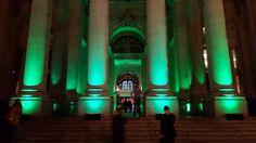 Royal Exchange Lighting..