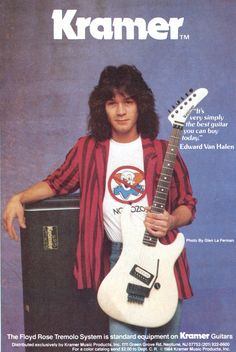 Eddie Van Halen took flying lessons from David Lee Roth. Description from pinterest.com. I searched for this on bing.com/images