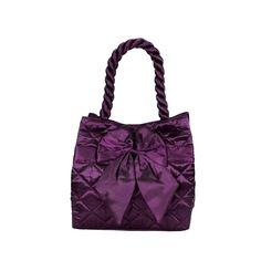 Elegantní dámská saténová kabelka Naraya fialová NNBS100n179