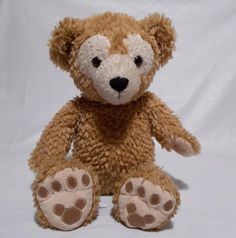 "Disney Parks Duffy Bear Plush Hidden Mickey Stuffed Animal 17"" Tall #Disney #DuffyBear #HiddenMickey"