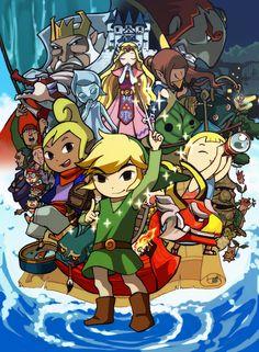 Legend of Zelda: Ze Wind Waker. -Chuggaconnroy