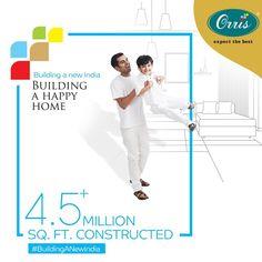 Building A Happy Home!  #TheBigAdvantage #PropertyInGurugram #RealEstate #PremierLife #OrrisPariwar #OrrisInfrastructure #Orris #OrrisIndia #ExpectTheBest #BuildingANewIndia #HappyCustomers News India, Advertising, Real Estate, Building, Happy, Real Estates, Buildings, Ser Feliz, Construction