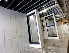 The Hedgehog Aluminium Systems windows and doors showroom is located in Amersham. Our range of aluminium windows and doors are on show within the UK's largest residential glazing showroom. Showroom Design, Showroom Ideas, Exterior Design, Interior And Exterior, Aluminium Windows And Doors, Red Floor, Architecture Logo, Door Displays, Clinic Design