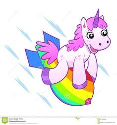 Illustration about Cartoon mad unicorn soiled liquid rainbow. Bizarre and crazy illustration. Illustration of unicorn, colorful, illustration - 47690523 Unicorn Dash, Black Unicorn, Purple Unicorn, Cute Unicorn, Rainbow Unicorn, The Last Unicorn, Magical Unicorn, Unicorn Memes, Unicornios Wallpaper