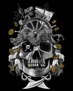 Dead Pirate's Gold by qetza on deviantART