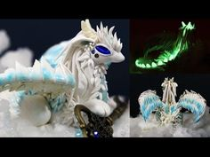 How To Make a Dragon   Polymer Clay Tutorial - YouTube