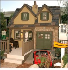 Oh wow!!! Project Playhouse™ | Galleries - 2005: Extreme Makeover Playhouse