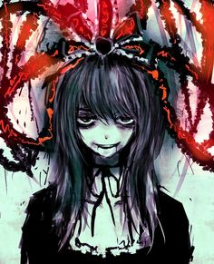 Group of: creepy little Anime girl | We Heart It
