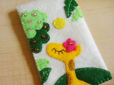 Giraffe felt case might have to make this one day