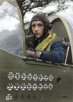 "Stanisław Skalski (1915 2004) was a Polish fighter ace of the Polish Air Force in World War II later rising to the rank of Brigadier General. Skalski was the top Polish fighter ace of the war and the first Allied fighter ace of the war credited according to official lists with 18 11/12 victories and two probable. Some sources including Skalski himself give a number of 22 11/12 victories. In October 1942 he was given command of the Polish Fighting Team (PFT) or so-called ""Skalski's Circus""…"