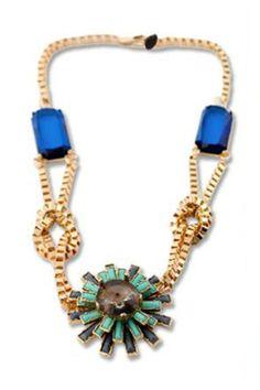 Fashion Sunflower Necklace OASAP.com