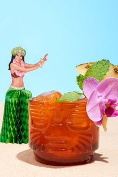 "This is ""one of Don the Beachcomber's baroque 1940s masterpieces,"" Jeff Berry says, and he didn't change a thing when he put it on the menu at Latitude 29. Yes, that's quite a long list of ingredients, but they coalesce into a memorable drink and a classic, quintessential tiki experience. (Photo: Davide Luciano for The New York Times)"