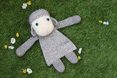 Crochet Sheep Ragdoll