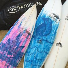@tanika_hoffman is one creative soul || #boardstix #paintpens #surf @boardstixsa