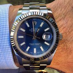 Watch CrazyさんはInstagramを利用しています:「Rolex DateJust II」