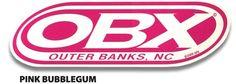 OBXstore.com - OBX Pink Bubblegum Sticker, $2.99 (http://www.obxstore.com/all-gifts-souvenirs/obx-pink-bubblegum-sticker-genuine-obx-gear/)