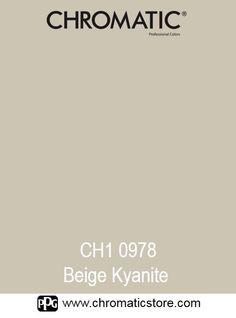 Finalisez votre projet peinture en vous rendant dans l'un de nos points de vente partenaires. Trouvez votre distributeur sur www.chromaticstore.com  #couleur #beige