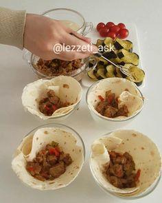 """2,637 Beğenme, 56 Yorum - Instagram'da lezzet-i_ask (@lezzeti_ask): """"Merhaba şimdiden hayırlı iftarlar herkese💕 İçini akşamdan hazırlarsak ertesi gün lavas kebablarını…"""""""