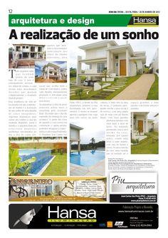 21° Publicação Jornal bom dia – Matéria - Realização de um sonho  20-01-12