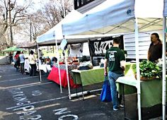 Tuesday is Market Day at Tremont Farmers' Market in Cleveland, Ohio 4 - 7 pm in Lincoln Park in Tremont, on W 14th St., between Starkweather and Kenilworth Avenues http://www.farmersmarketonline.com/fm/TremontFarmersMarket.html