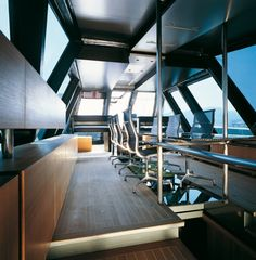 Wallypower 118 - luxury and fast yacht - dining salon
