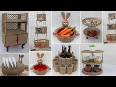 Waste Material Project, Craft From Waste Material, Sisal, Space Saving Kitchen, Jute Crafts, Kitchen Organization, Recycling, Projects To Try, The Creator