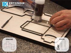 Kritzinger Stanzformenbau - Stanzform | Stanzwerkzeug | Ausbrechform | Bandstahlschnitt |
