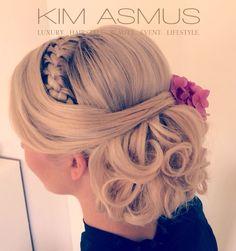 Brautfrisur Seitenansich Bridal Hair Side