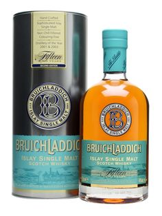 Bruichladdich 15 Year Old / 2nd Edition Scotch Whisky : The Whisky Exchange