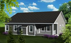 Plan #70-1131 - Houseplans.com