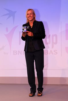 14. As a player who dominated tennis in the 1980s, Martina Navratilova might be considered the greatest tennis player when considering her resume with singles, doubles and mixed doubles. She has worked in media, calling tennis matches and speaking out on the sport. She is very well-known for supporting underprivileged causes and being a symbol for gay rights. She was recently cited by NBA player Jason Collins as being an inspiration and pioneer for him.