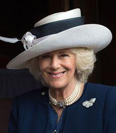 Duchess of Cornwall, May 10, 2016 in Philip Treacy   Royal Hats
