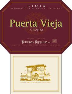 Puerta Vieja Crianza #Rioja #wine