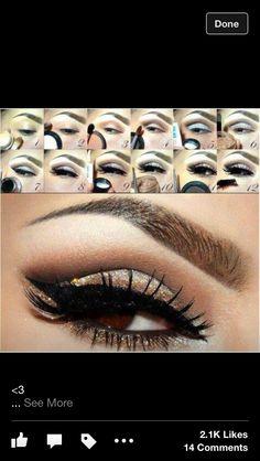 Best dramatic eye (also best brow shape!)