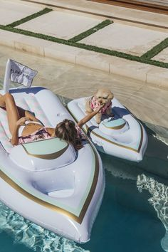 You can check pool floats off your summer bucket list because these cute af pool floats for adults (and your dog!) are prefect for Instagram.