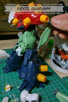 Gunpla Custom Build - Devil Gundam